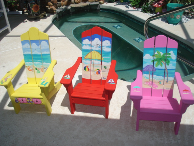 Kids Adirondack Chairs   $ 89.00 Ea