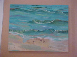 "1 "" Deep Stretched Canvas   24 X 36 - $ 175.00"