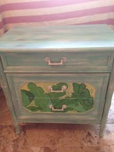 small palm chest