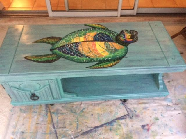 Turtle Coffee Table
